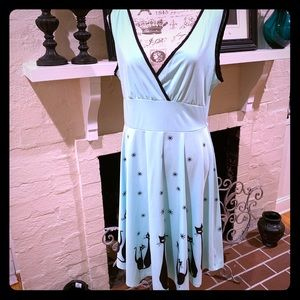🆕 AceVog 🐈 Mint Green Cat Dress 🐈